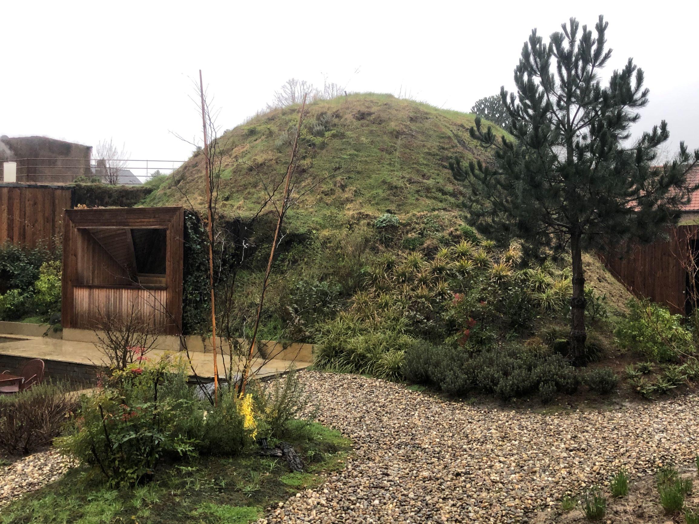 Toiture végétale - Le dome à R-st-G