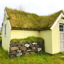 Toiture végétale extérieure (toiture verte)